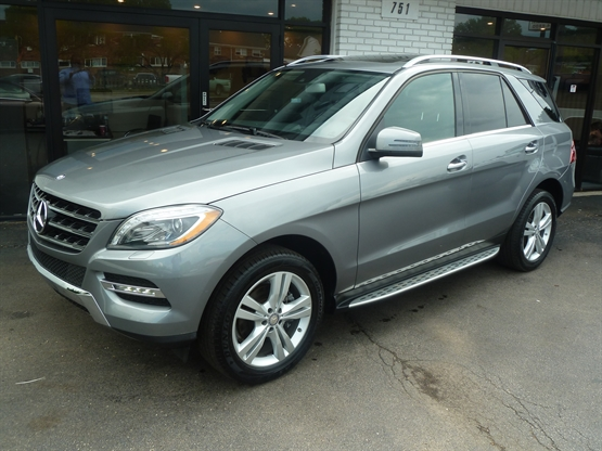 2013 MERCEDES-BENZ ML-Class 350 4MATIC AWD
