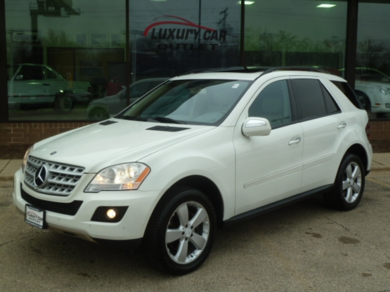 2009 MERCEDES-BENZ ML-Class 350 4MATIC AWD